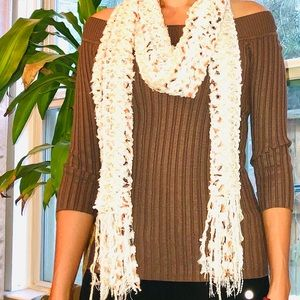 Brown Winter Top and Scarf 🧣(2pcs)